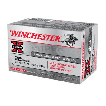 WINCHESTER SUPER-X 22 SHORT 29GR