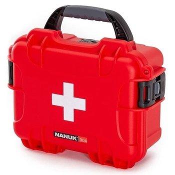 NANUK 904 FIRST AID CASE RED