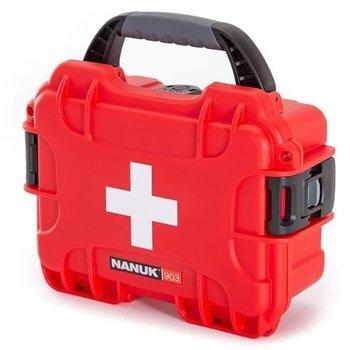 NANUK 903 FIRST AID CASE RED