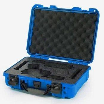 NANUK 910 CLASSIC DOUBLE PISTOL CASE - BLUE