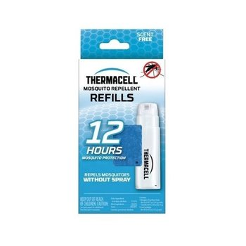 THERMACELL MOSQUITO AREA REPELLENT 12 HOUR REFILL 3 MATS/1 BUTANE CARTRIDGE