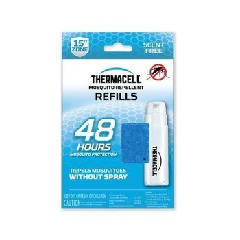 THERMACELL MOSQUITO AREA REPELLENT 48 HOUR REFILL 12 MATS/4 BUTANE CARTRIDGE