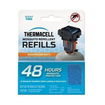 THERMACELL MOSQUITO AREA REPELLENT 48 HOUR REFILL MAT ONLY