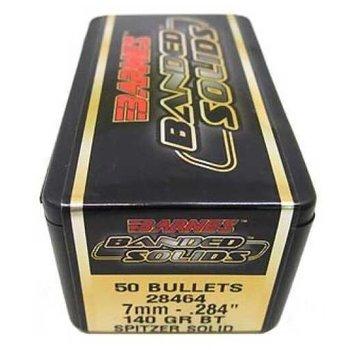 BARNES 7mm 140gr BT SPITZER SOLID 50ct