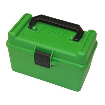 MTM 50rd DELUXE RIFLE AMMO BOX H-50 Series
