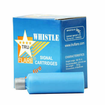 TRU FLARE PYROTECHNIC WHISTLES/SCREAMERS 6pk