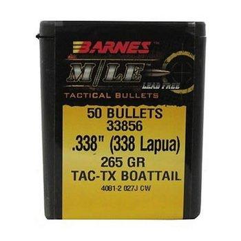 BARNES 338 LAPUA 265gr TAC-TX BT