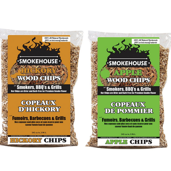 SMOKEHOUSE 2-PACK WOOD CHIPS