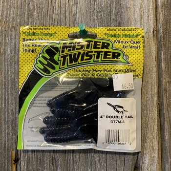 """MISTER TWISTER 4"""" DOUBLE TAIL"""