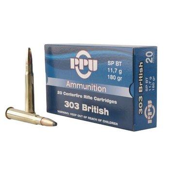 PPU 303 BRITISH 180GR SP BT 20CT