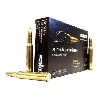 SAKO 30-06 SPRG 150gr SUPER HAMMERHEAD 20ct