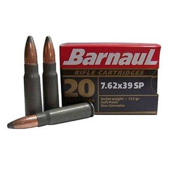 BARNAUL 7.62 x 39 125gr SOFT POINT 20ct