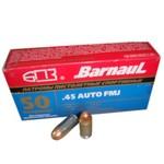 BARNAUL 45 AUTO 230gr FMJ 50ct