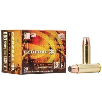 FEDERAL 500 S&W 325GR BONDED SP 20ct