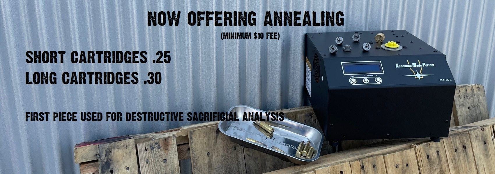 Now Offering Annealing