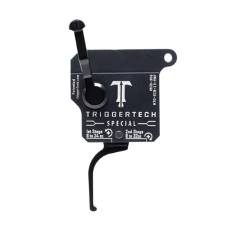TRIGGER TECH REM 700 TWO-STAGE SPECIAL FLAT CLEAN Blk/Matte Grey CLONE ACTION