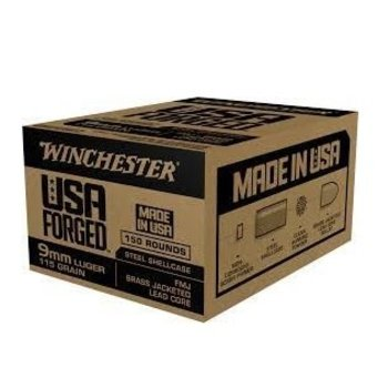 WINCHESTER 9mm Luger 115gr FMJ 150ct