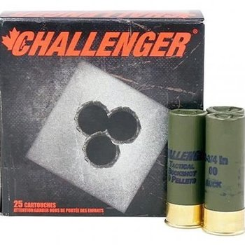 "CHALLENGER 12ga 2-3/4"" MAGNUM 00 BUCK"