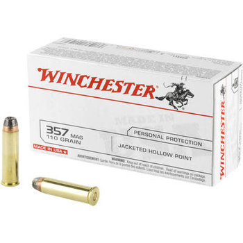 WINCHESTER 357 MAG 110gr JHP 20ct