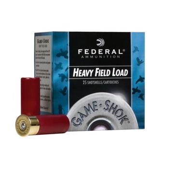 """FEDERAL 20ga 2-3/4"""" 1OZ 6 SHOT HEAVY FIELD LOAD 25ct"""