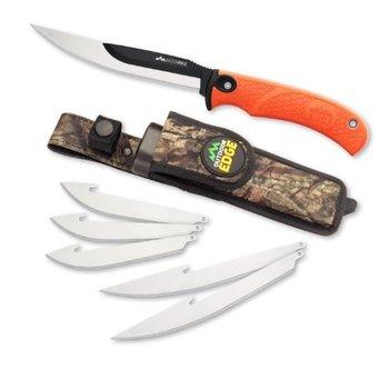 OUTDOOR EDGE RazorMax c/w 6 Replaceable Blades Orange