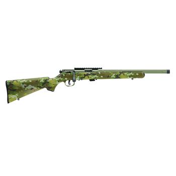 "SAVAGE ARMS 93 FV-SR 17 HMR Bazooka Green Camo 16.5"""