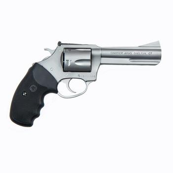 """CHARTER ARMS TARGET BULLDOG 357 MAG 5"""" STD GRIP"""