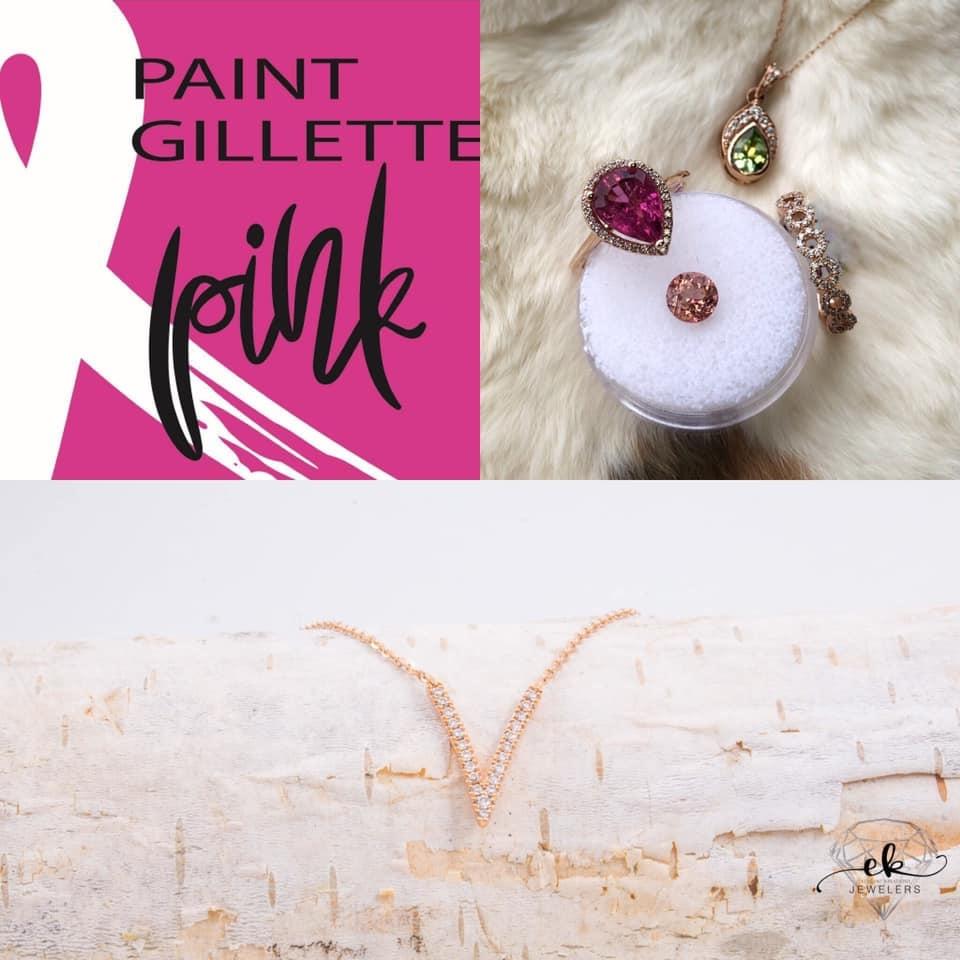 Help EK Jewelers Paint Gillette Pink!
