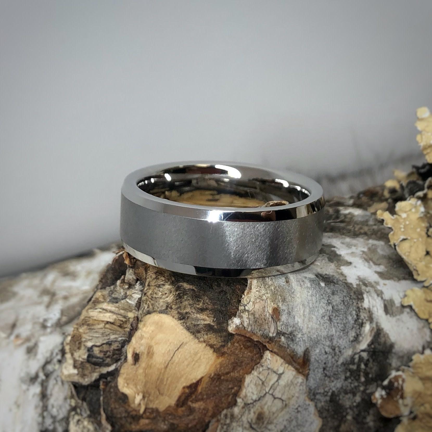 Men's Cobalt Ring Knife Edge