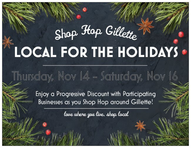 Shop Hop Gillette to Keep it Local for the Holidays