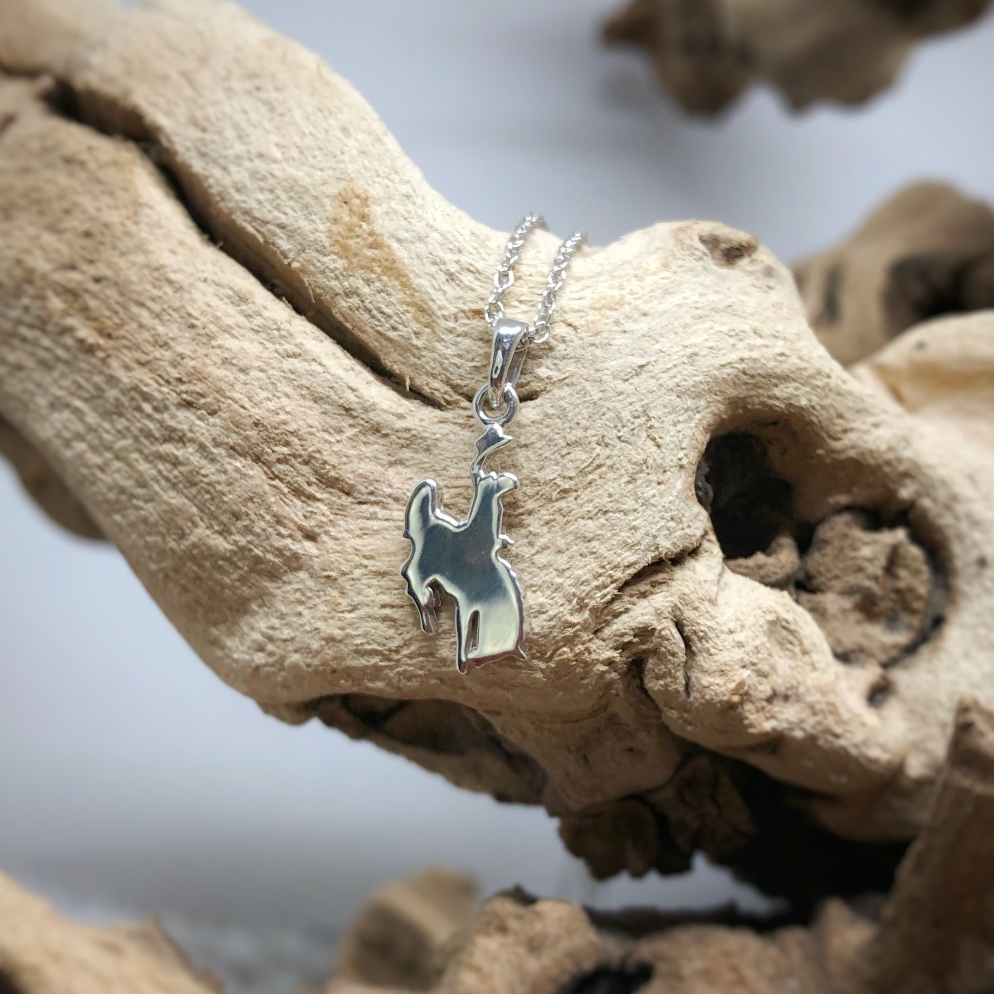 SS Wyoming Cowboy Necklace