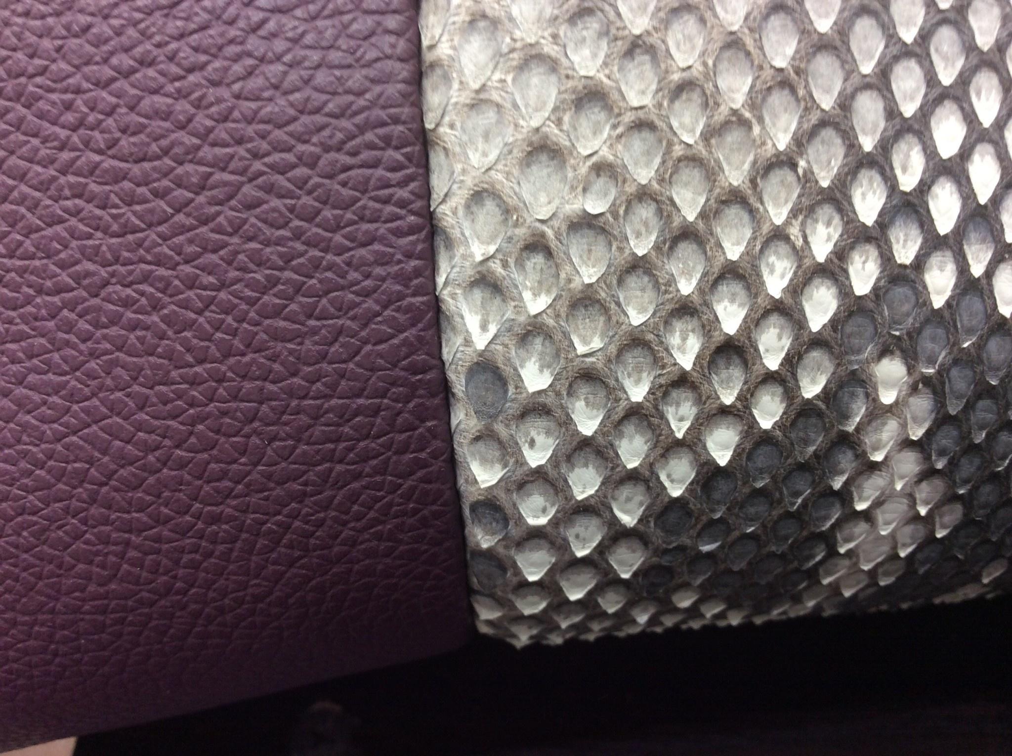 Tote Python Handbag