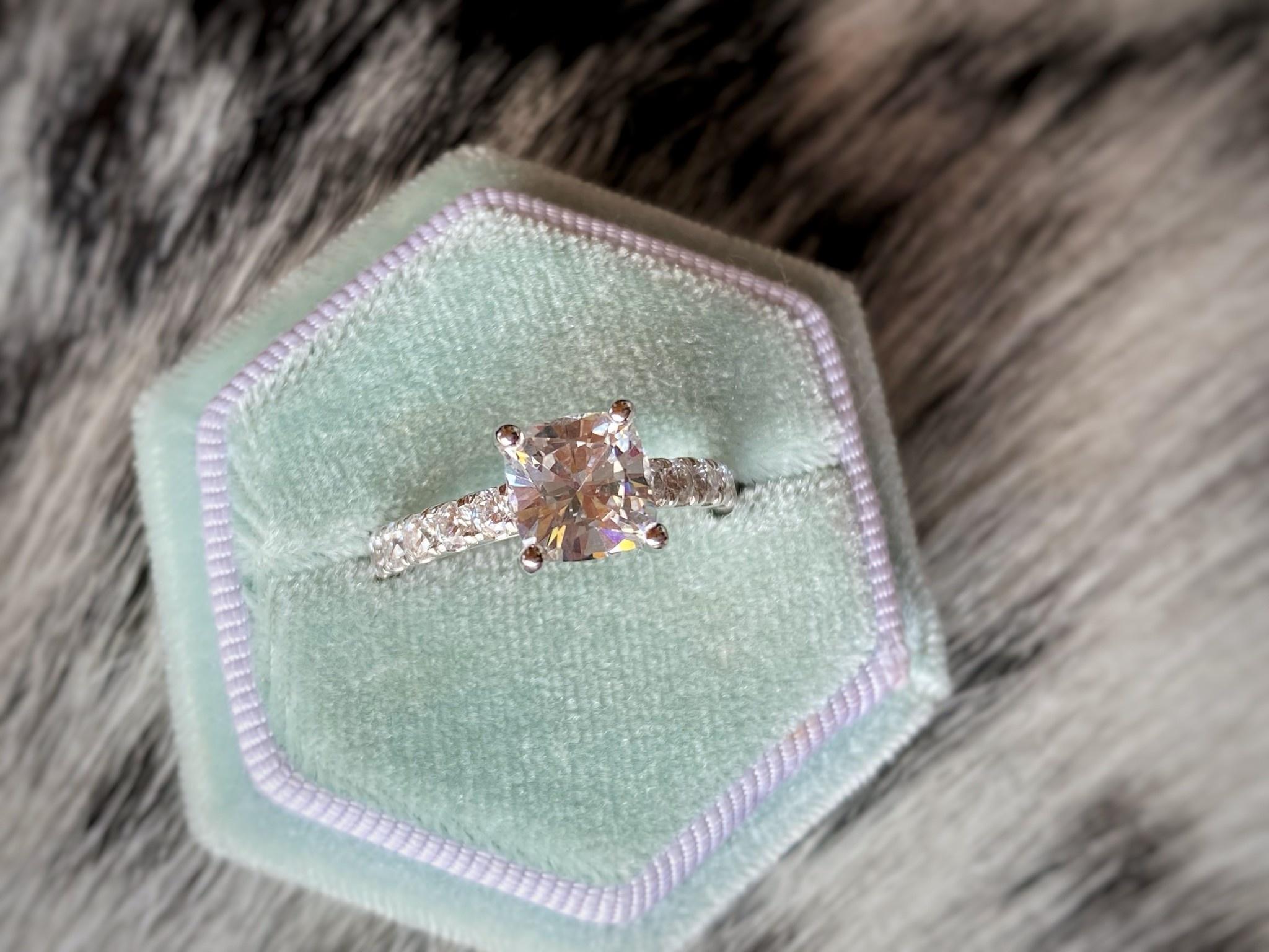 Classy Diamond Solitaire Semi-Mount 0.72tw