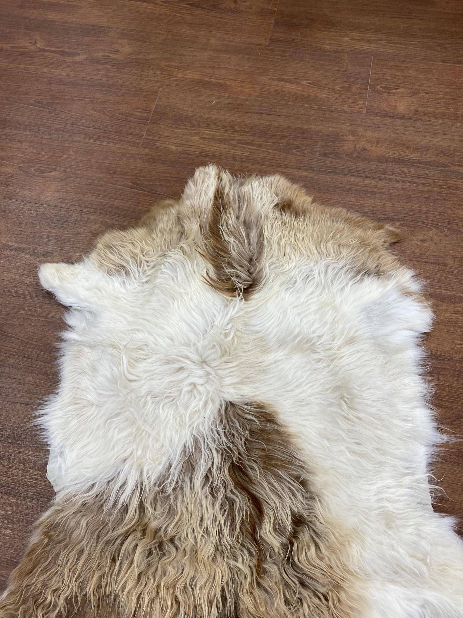 Long Haired Goat Hide