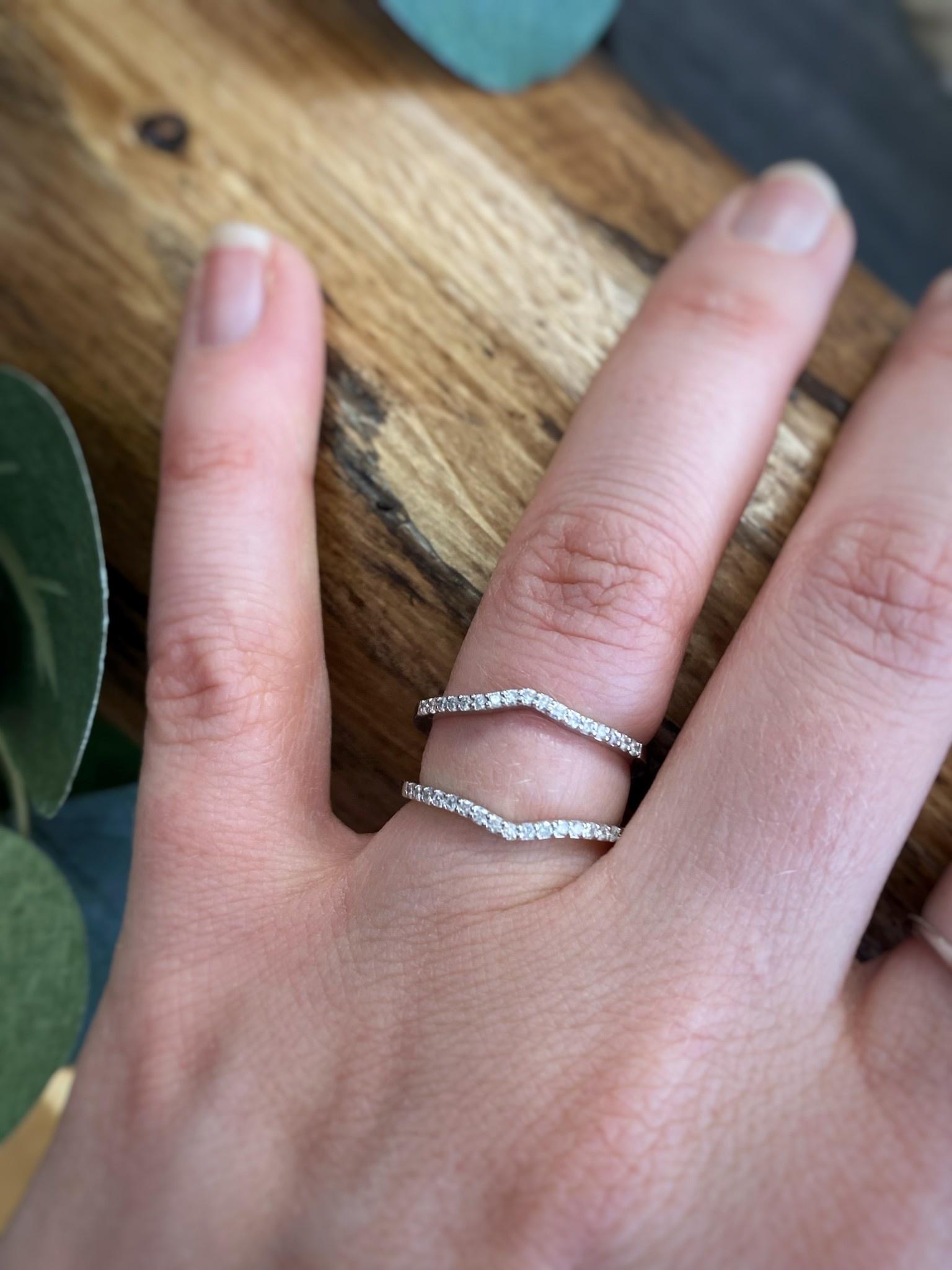 Diamond Contour Ring Guard