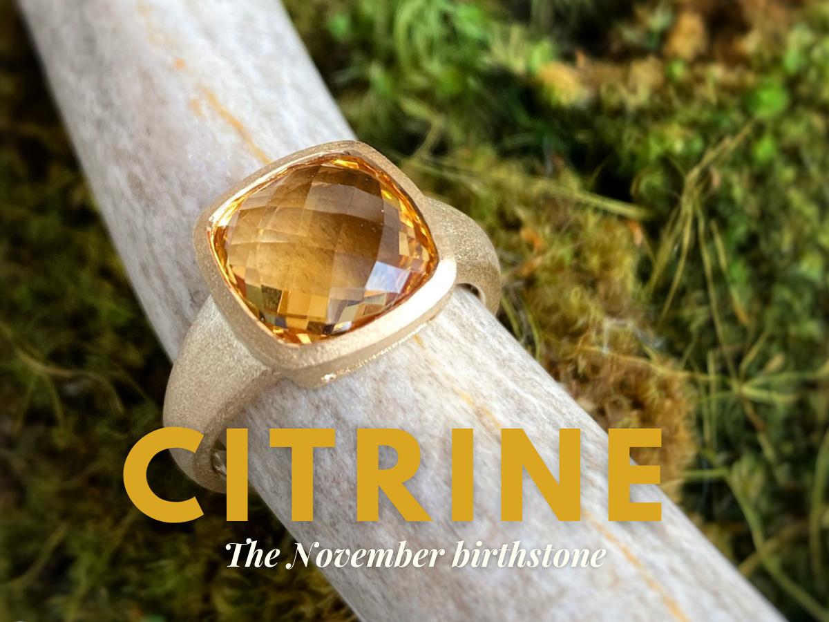 November Birthstone: Citrine