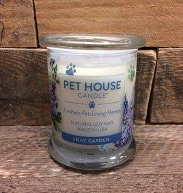 One Fur All One Fur All Candle Glass Jar-Lilac Garden 8.5oz