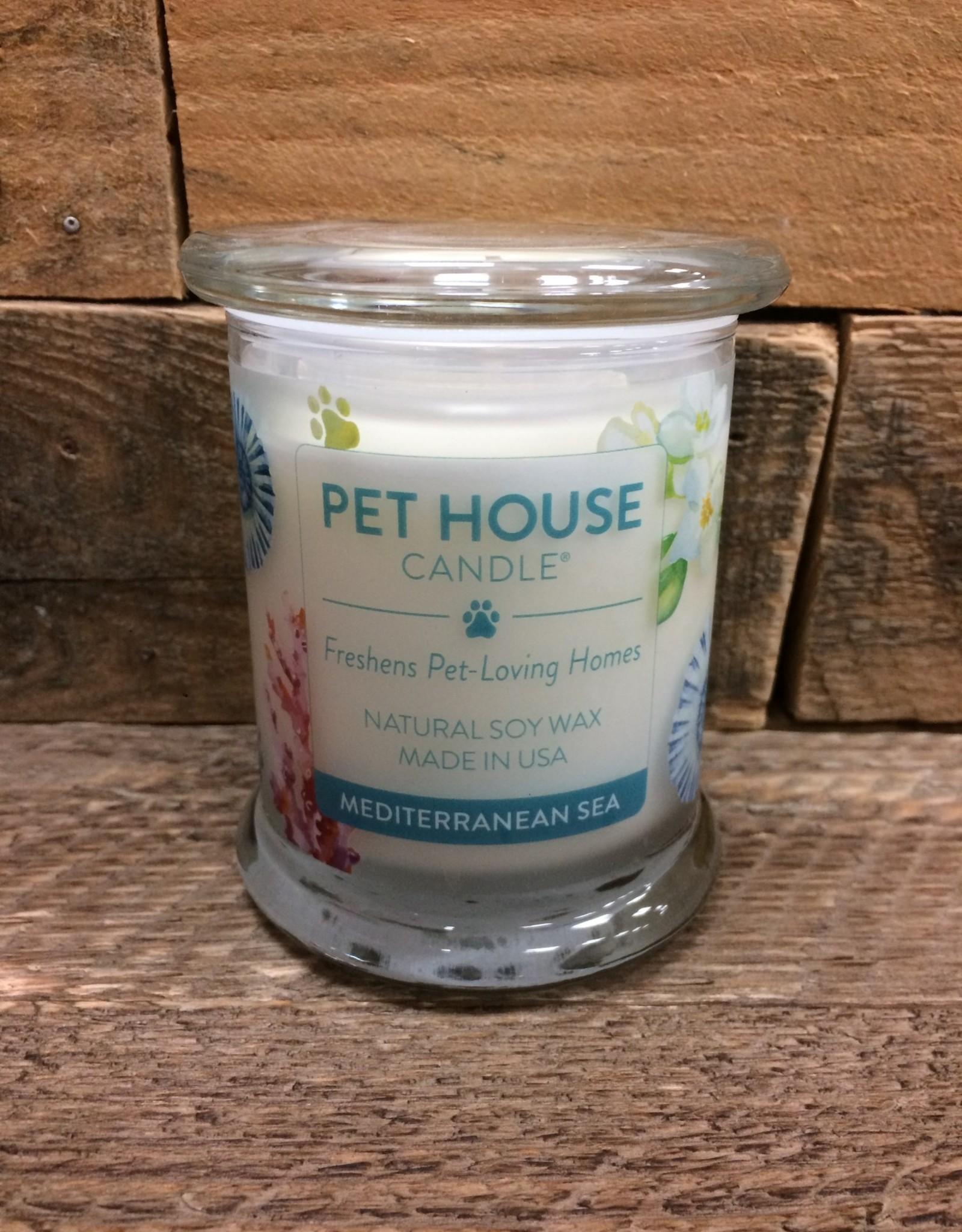 One Fur All One Fur All Candle Glass Jar-Mediterranean Sea 8.5oz