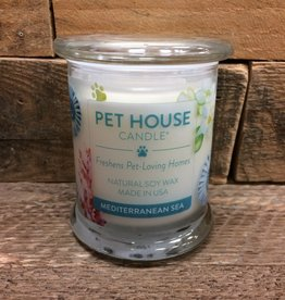 One Fur All One Fur All Candle Glass Jar-Mediterranean Sea 8.5oz