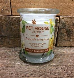 One Fur All One Fur All Candle Glass Jar-Vanilla Sandalwood 8.5oz
