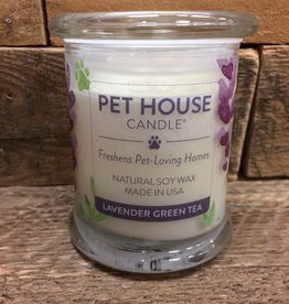 One Fur All One Fur All Candle-Glass Jar-Lavender Green Tea 8.5oz