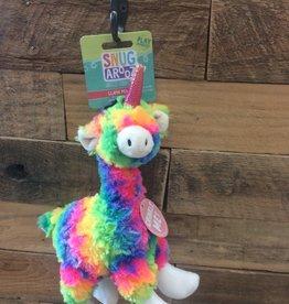 """SNUGAROOZ SNUGAROOZ Llama Mia dog toy 10"""""""