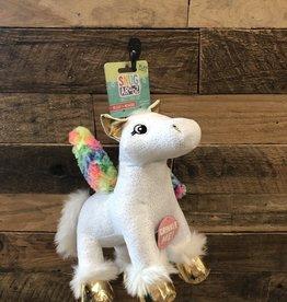 "SNUGAROOZ Snugarooz  Peggy Pegasus White 10"" Dog Toy"
