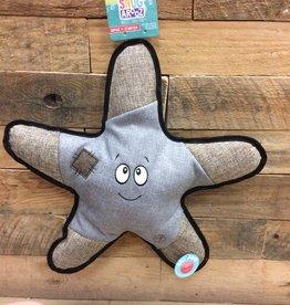 """SNUGAROOZ Snugarooz Sophie Starfish Grey 21"""" Dog Toy"""