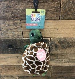 """SNUGAROOZ SNUGAROOZ Shelldon Turtle Green 10"""" Dog Toy"""