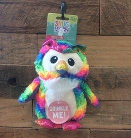 """SNUGAROOZ SNUGAROOZ Hootie owl dog toy 10"""""""