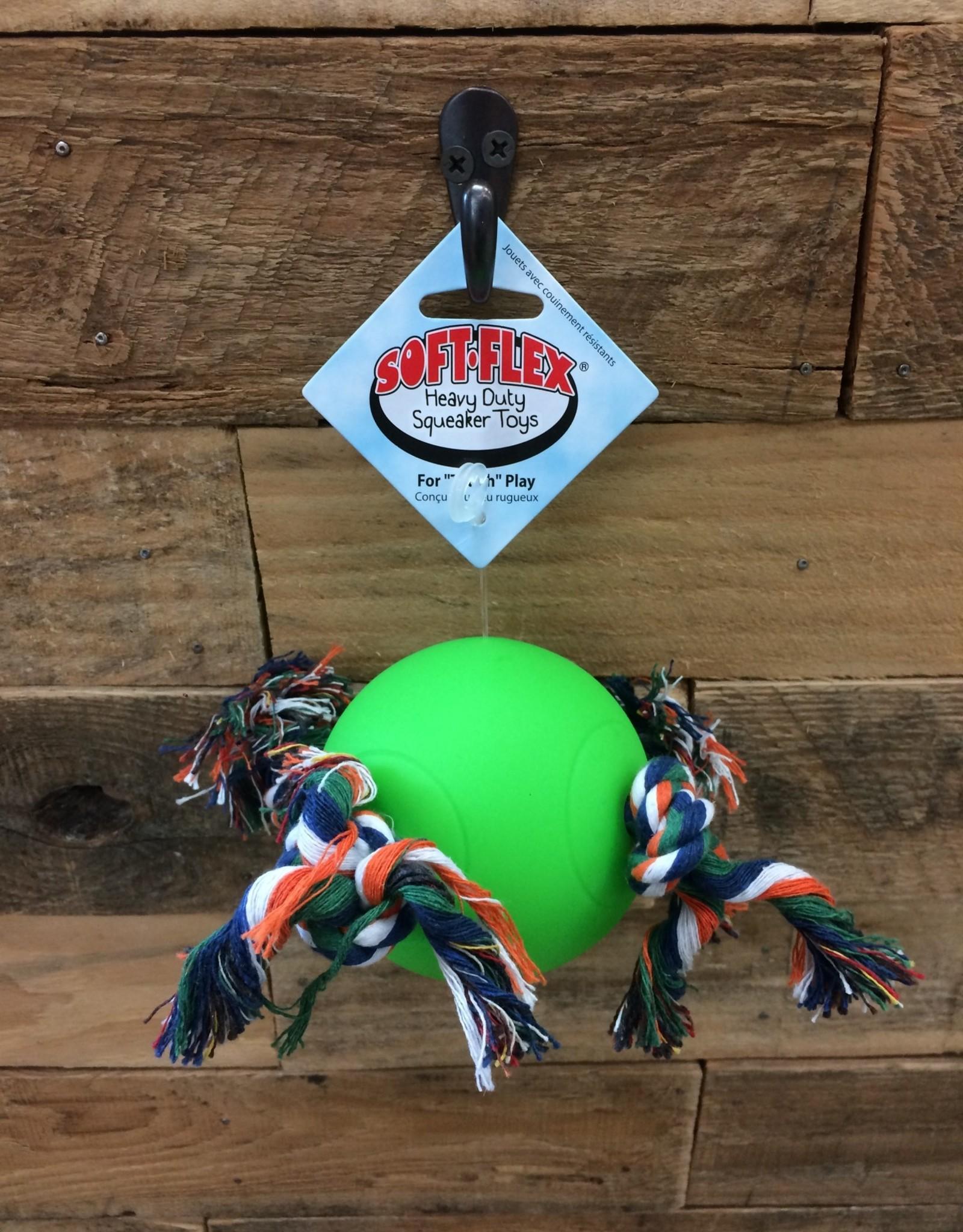 "HUETER TOLEDO TUGGY BALL - GREEN 3.5"""