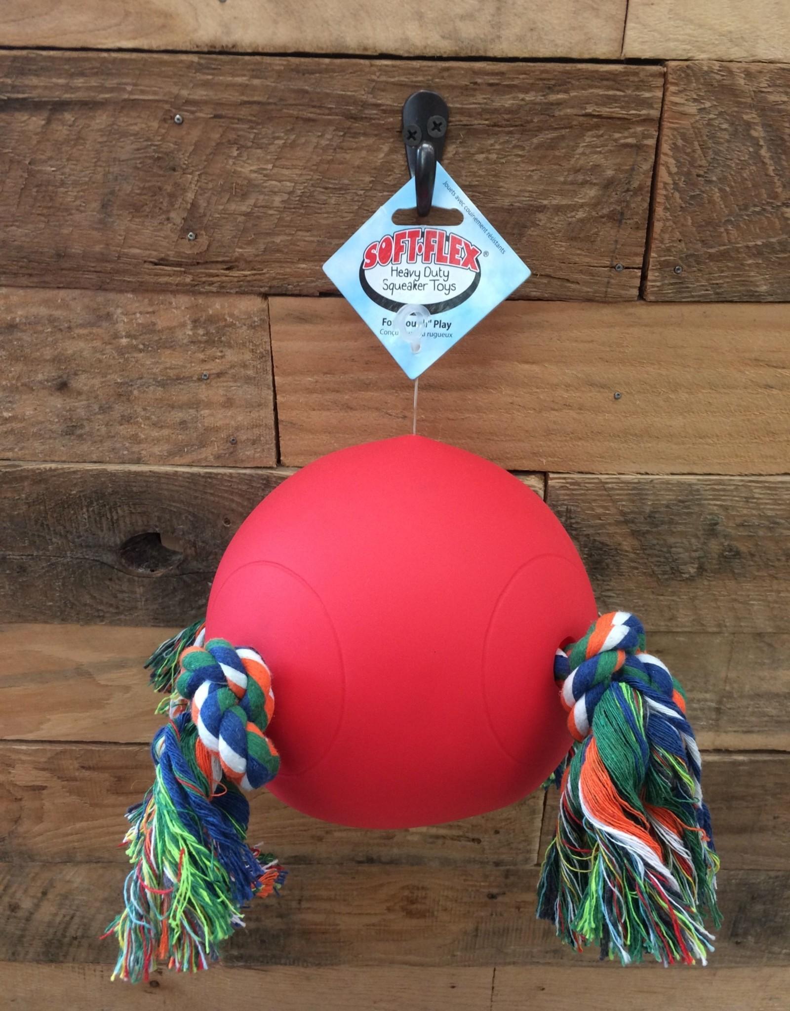 """HUETER TOLEDO TUGGY BALL - RED 6.5"""""""