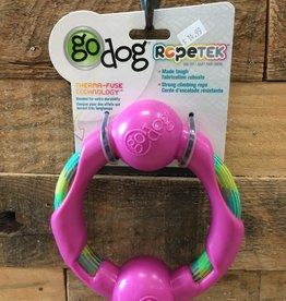Go Dog Go dog Ropetek Large Pink ring Rope
