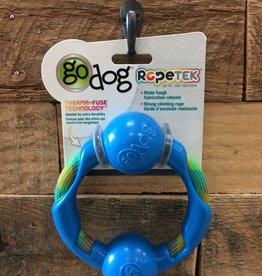Go Dog Go dog Rope Tek  Small Blue Ring